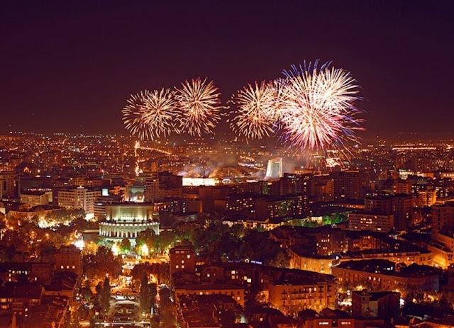 Venta y uso de fuegos artificiales será con licencia en Armenia