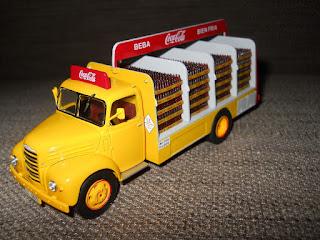 coleccion kioskos camiones de reparto