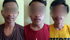Nekat Nyimeng di Masjid, 3 Pria ini Dibekuk Polisi