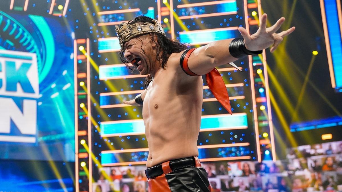 King Shinsuke Nakamura conquista o WWE Intercontinental Championship