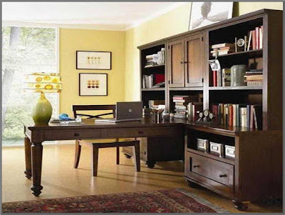 35 desain ruang kerja minimalis di rumah (kantor