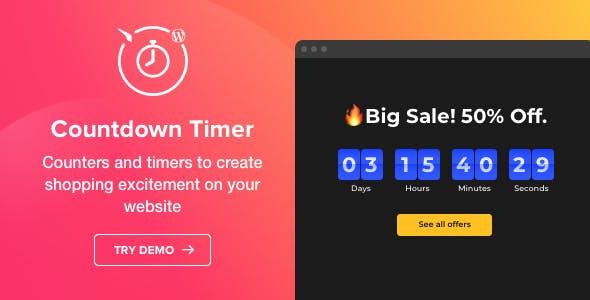 Countdown Timer v1.4.0 - WordPress Countdown Timer plugin