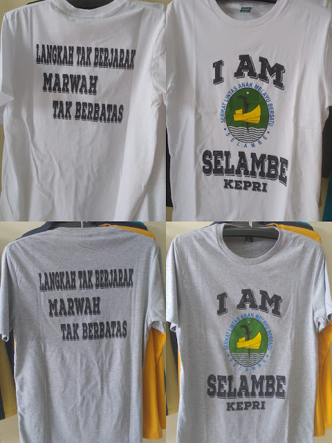 Sablon Kaos Organisasi Anak Melayu
