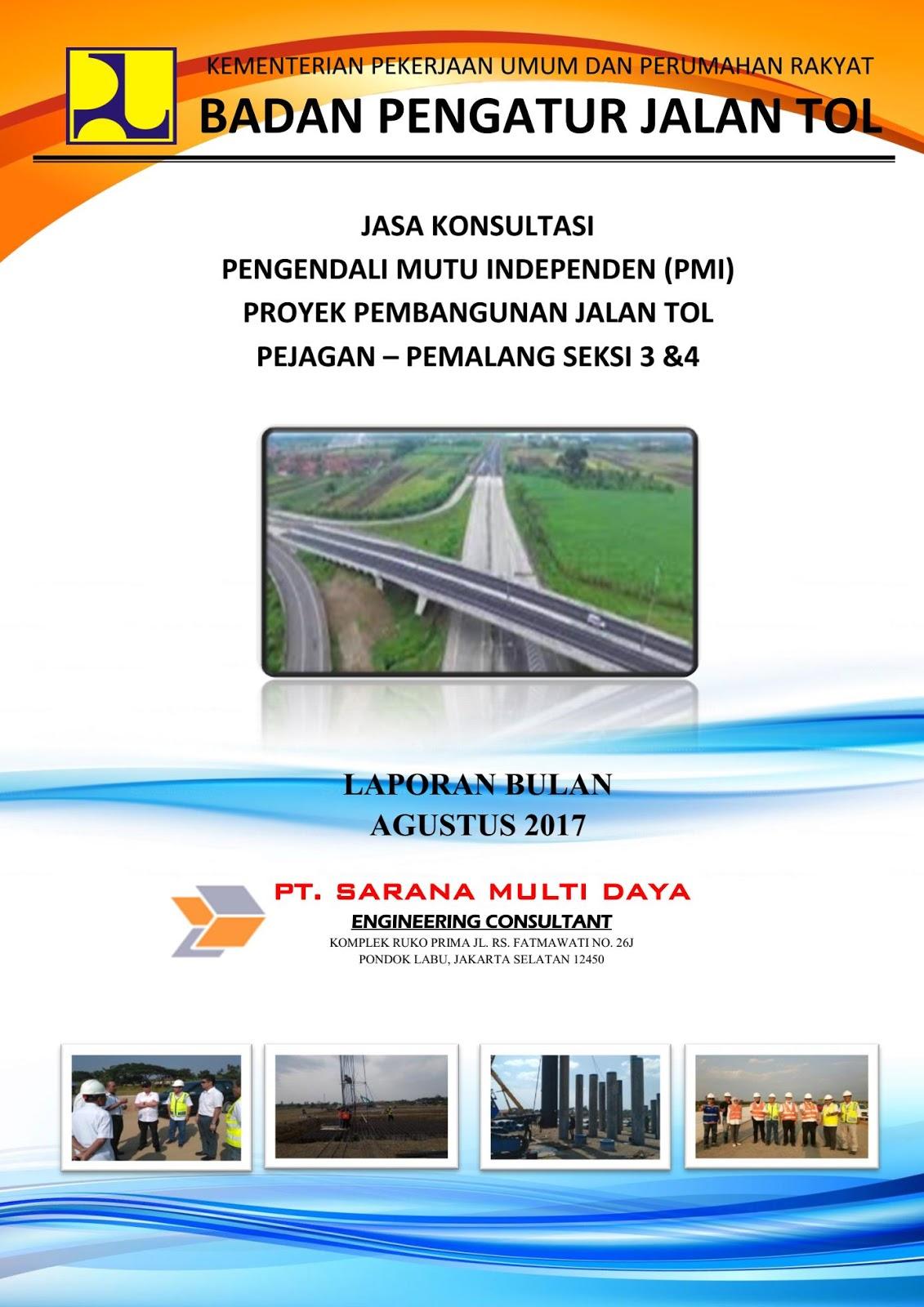 Contoh Laporan Proyek Pembangunan Jalan Seputar Laporan