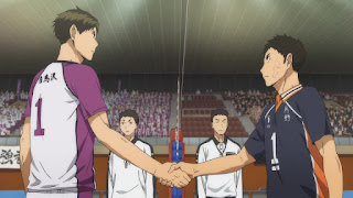 ハイキュー!! アニメ 3期1話 主将   Karasuno vs Shiratorizawa   HAIKYU!! Season3