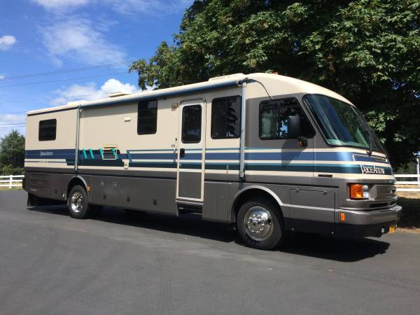 used rvs pace arrow 36ft diesel pusher for sale by owner. Black Bedroom Furniture Sets. Home Design Ideas