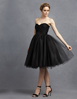 Prom Dress the Night Donna Morgan Kenna Strapless Tulle Party Dress