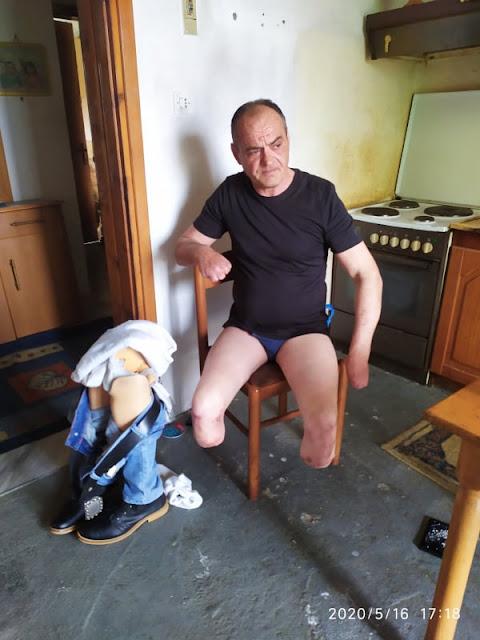 Αίσιο τέλος για τον άνθρωπο στο Νησί Ημαθίας με βαριά αναπηρία που ζούσε χωρίς ρεύμα για δύο μήνες.