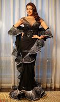 Kajal Aggarwal sizzles in Black Deep Neck Dress ~  Exclusive 007.jpg