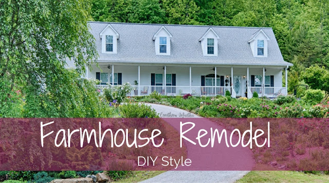 Farmhouse Remodel DIY Style: Kitchen edition