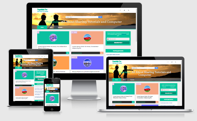 pro photo blog templates - popolulu responsive pro blogger templates kaizentemplate