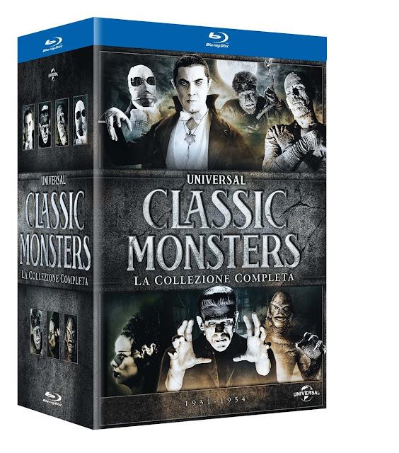 Universal Classic Monsters Collezione