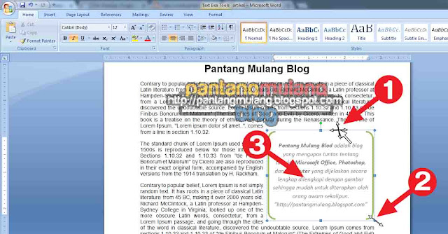 Cara Membuat dan Menghapus Text Box di Microsoft Word
