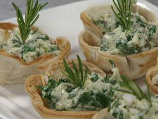Canapes vegetarianos