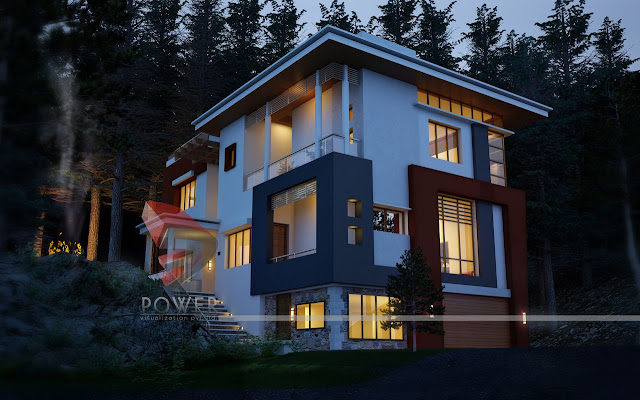 Night View Villa Township Project