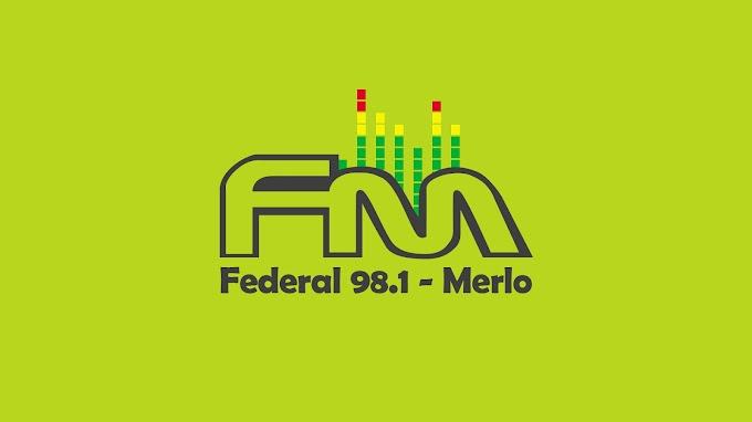 Gráfica para FM Federal 98.1