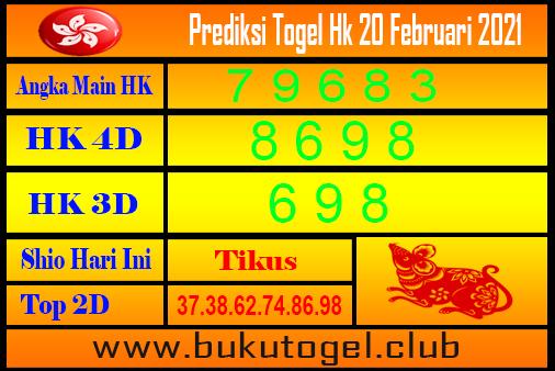 Hk Forecast 20 Februari 2021