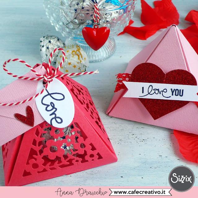 Scatolina piramide da regalare a San Valentino - VIDEO