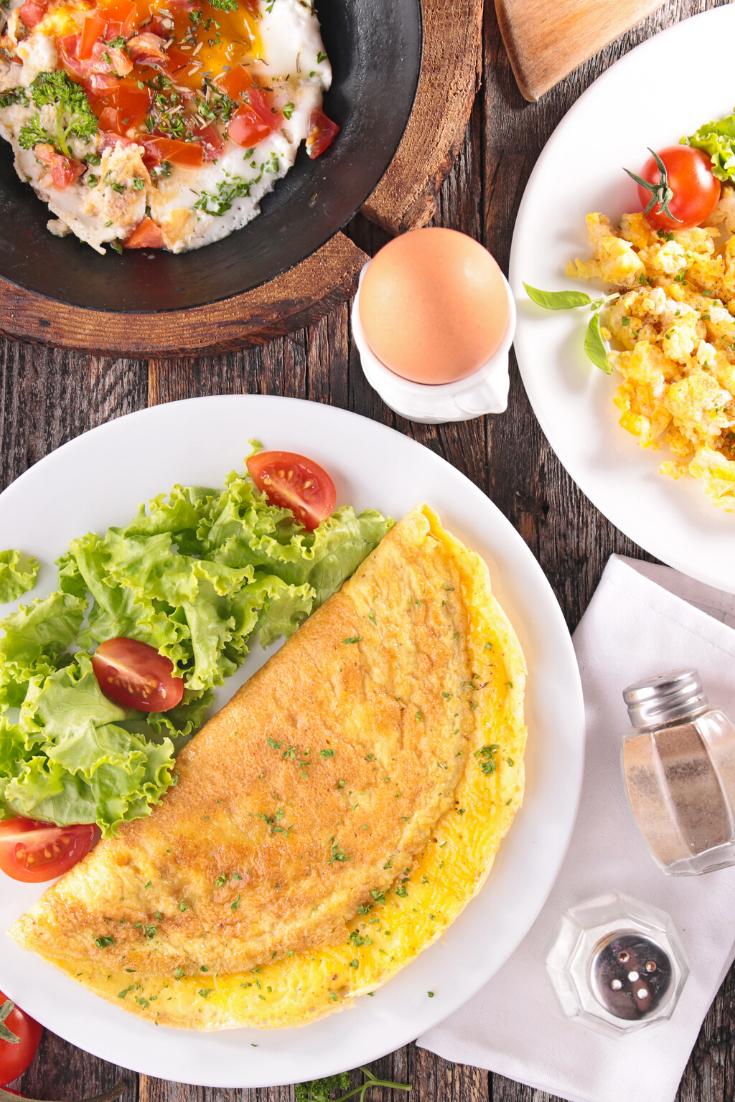 the #healthy #instapot #breakfast #recipes .. prepare it for the morning breakfast, a healthy, light meal, and full of great benefit, learn with us very easy steps how to make a delicious omelette