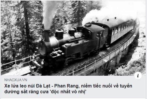 Ai đã hủy hoại con đường sắt răng cưa Tháp Chàm - Đà Lạt?