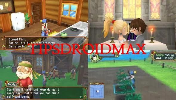 Download Harvest Moon Hero Of Leaf Valley PSP