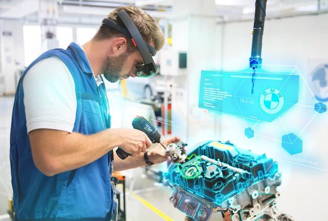 BMW ya utiliza la realidad virtual para la producción de sus vehículos