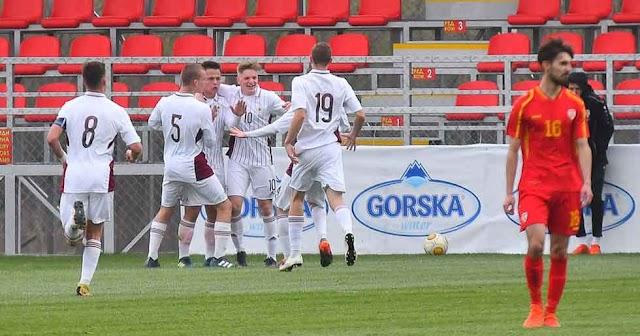 EM Quali: Mazedoniens Fußball Nachwuchs mit Niederlagen