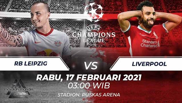 Prediksi RB Leipzig Vs Liverpool