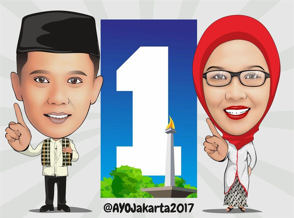 Olshopbro Kumpulan Gambar Kampanye Karikatur AHY1