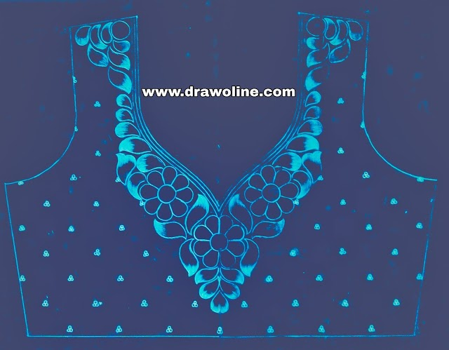 Maggam work designs papers, maggam work design trace papers, maggam work blouse design paper online