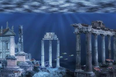 Rovine immaginarie di un regno sommerso