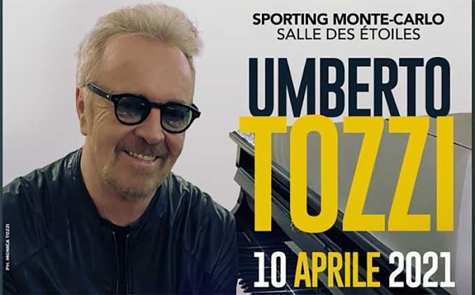 UMBERTO TOZZI: sabato 10 aprile per la prima volta in concerto acustico in diretta streaming