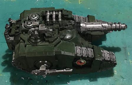 Legion Sicaran Venator WIP