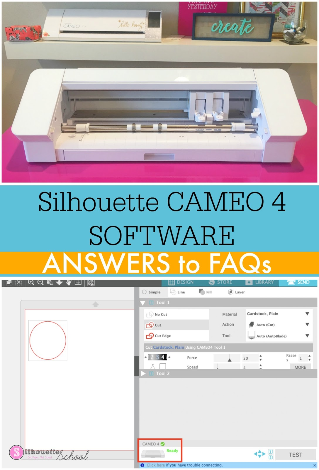 firmware latest version cameo silhouette 4