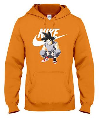 goku nike hoodie, goku nike sweater, goku nike sweatshirt, goku nike jacket