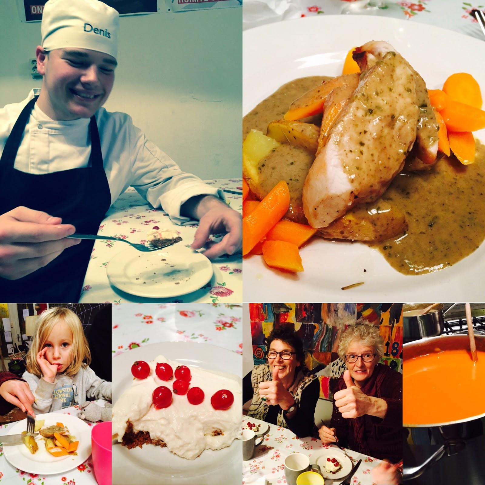 De woonkamer van meneer de burgemeester gezellige schuif aan maaltijd 18 november in de woonkamer - Idee gezellige maaltijd ...