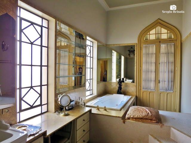 Palacete Rosa - Banheiro da suíte master