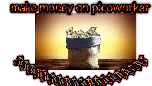 Faire de l'argent en ligne avec picoworker