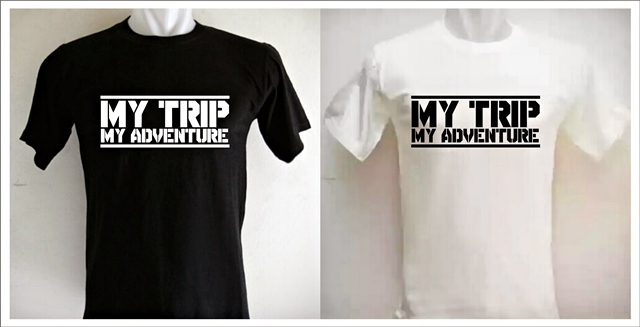 kaos my trip my adventure, kaos turn back crime, polo shirt, consina