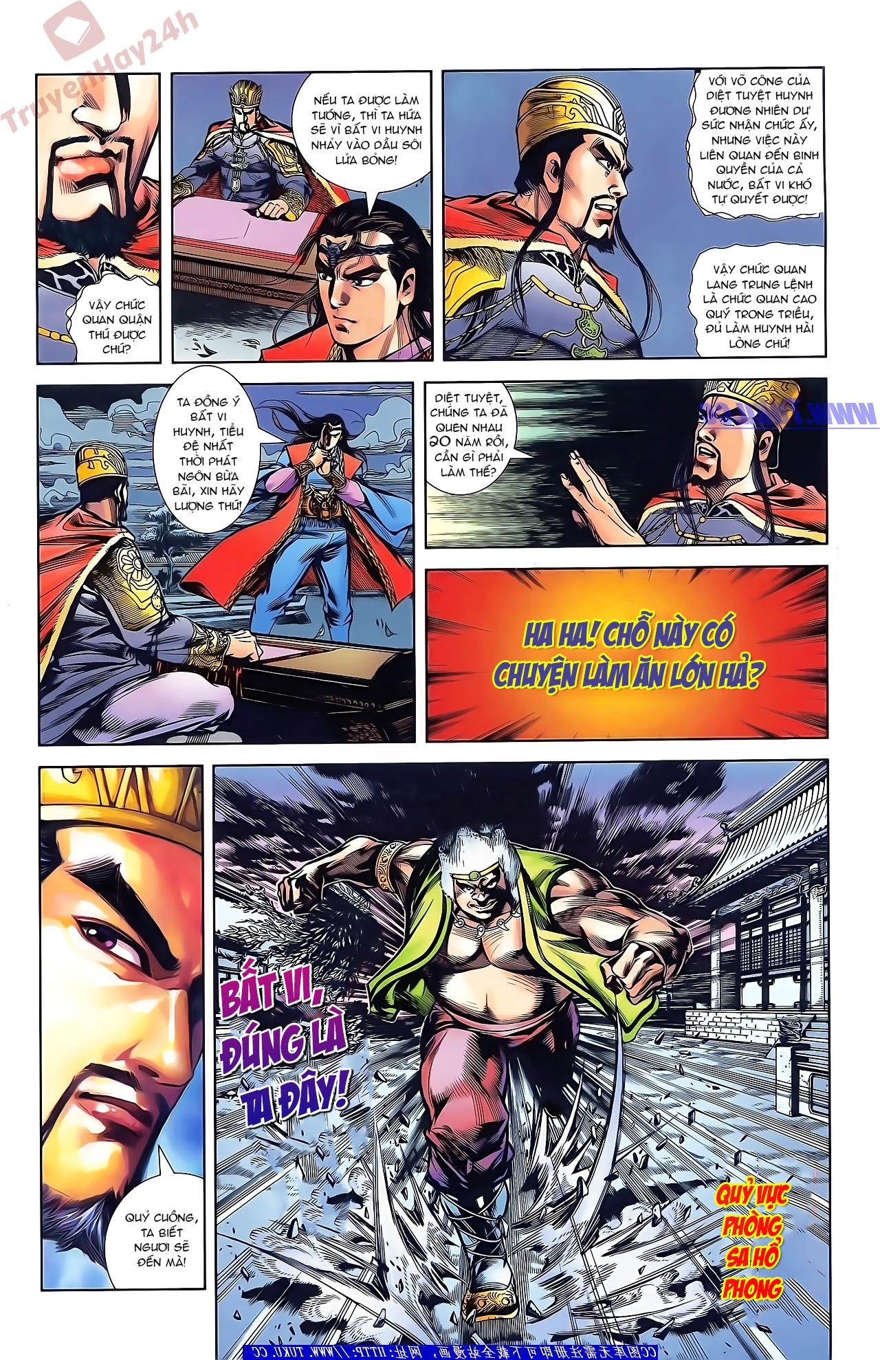 Tần Vương Doanh Chính chapter 42 trang 24
