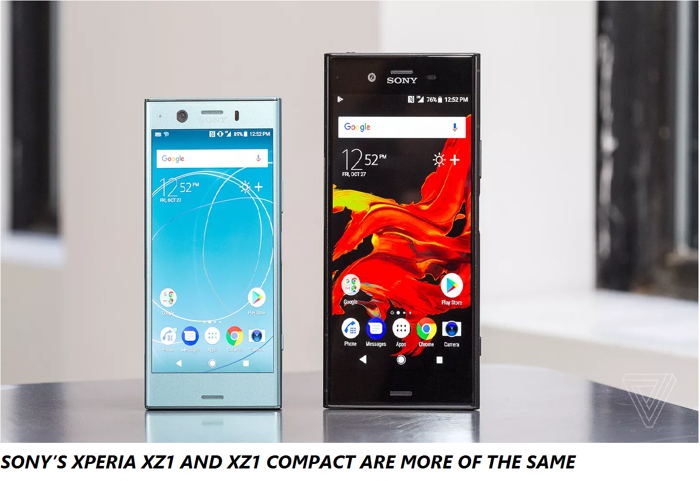 SONY'S XPERIA XZ1 AND XZ1 COMPACT ARE MORE OF THE SAME