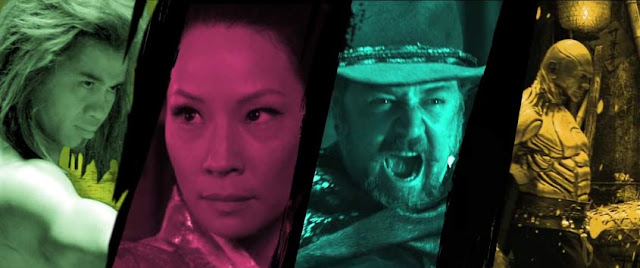 The Man With The Iron Fists: Cung Le, Lucy Liu, Russell Crowe, Dave Bautista