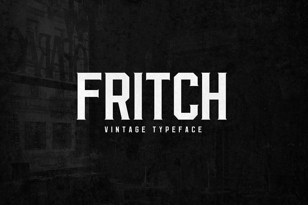 Fritch Font