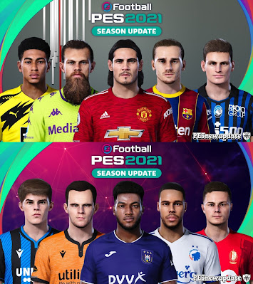 PES 2021 Extracted Facepack DLC 6.0