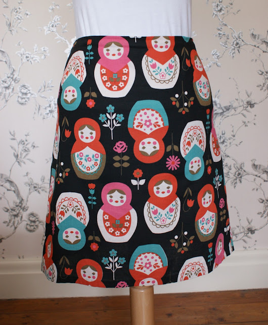 My Very First Sewed Garment (As An Adult!) - McCalls 3341 Skirt