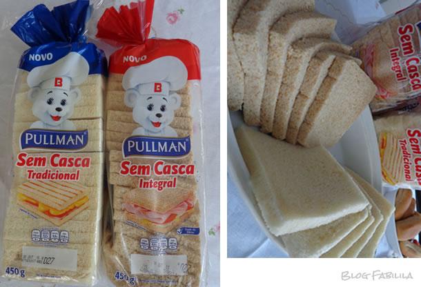 Os Pães de Forma sem Casca estão disponíveis em duas versões  Tradicional e  Integral. Apresentam sabor e maciez inigualáveis. Preço sugerido  6,49. d0720dafed