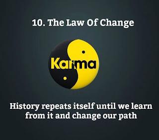 12 laws of Karma