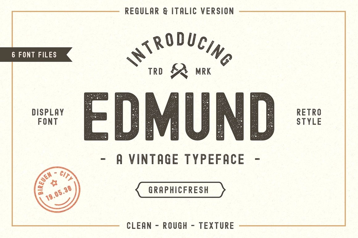 The Edmund Download Font Free | The Font Space | The right