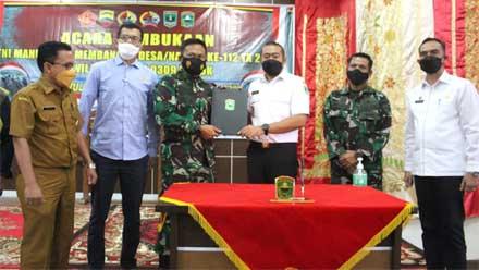 Wagub Sumbar Buka TMMD ke-112 di Kabupaten Solok