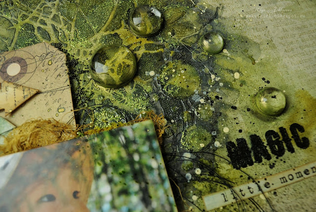 @olgazakharova#scrapbooking#mixedmedia#layout#7dotsstudio#